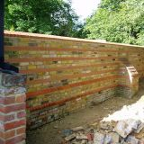Re-Built Wall in Tongham 2