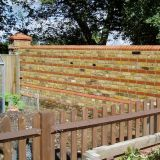 Re-built Wall in Tongham