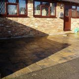 New Slabbed Driveway in Guildford