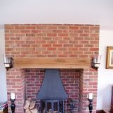 New Build Peaslake Fireplace